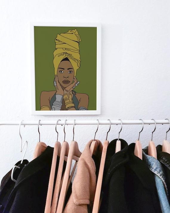 Eryka Badu Print