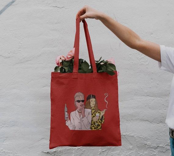 Patsy & Eddie Tote Bag