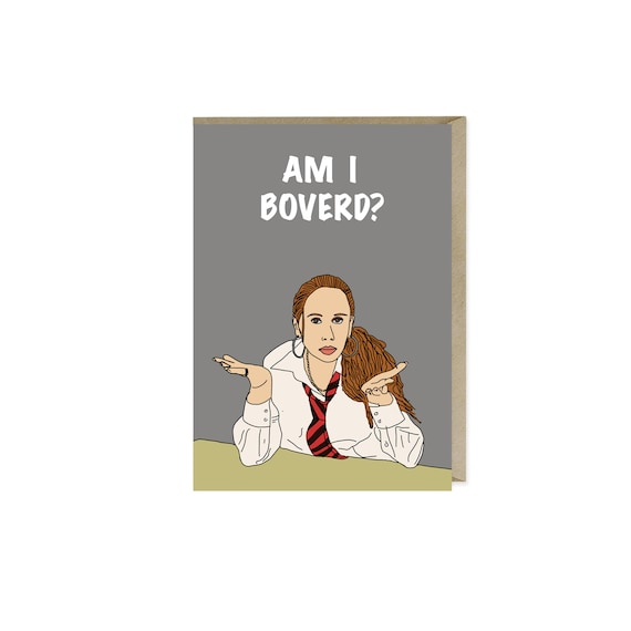 Catherine Tate Card