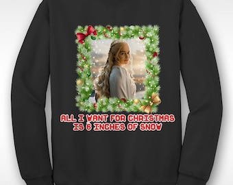 cbedce235edbb New Game Of Thrones Daenerys Christmas Funny Xmas Sweater // Ugly Jumper  Sizes Small-XXL