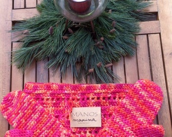 PPB cowl and mitten set
