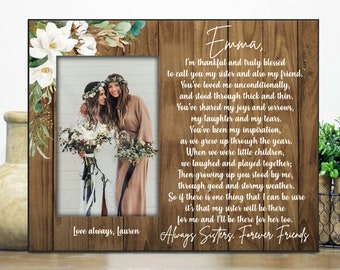 Sister Wedding Gifts Etsy