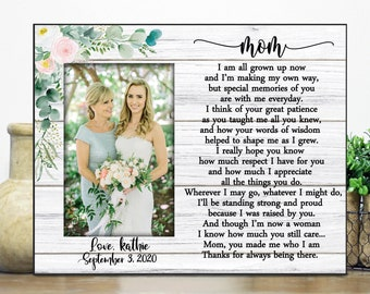 Parents Wedding Gift Wedding Frame Parent, Mother of the Bride Gift from Daughter Parent Wedding Gift