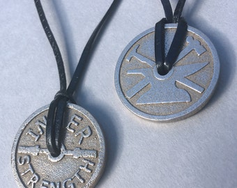 Stainless Steel Inner Strength Necklace