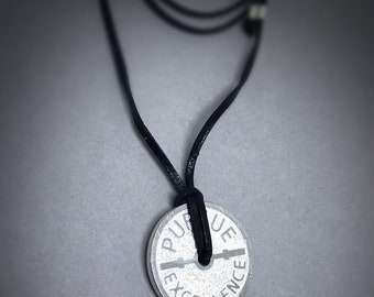 Sterling Silver Pursue Excellence Necklace