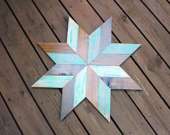 Rustic Star wood wall art
