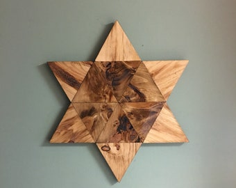 Rustic Star 6 points