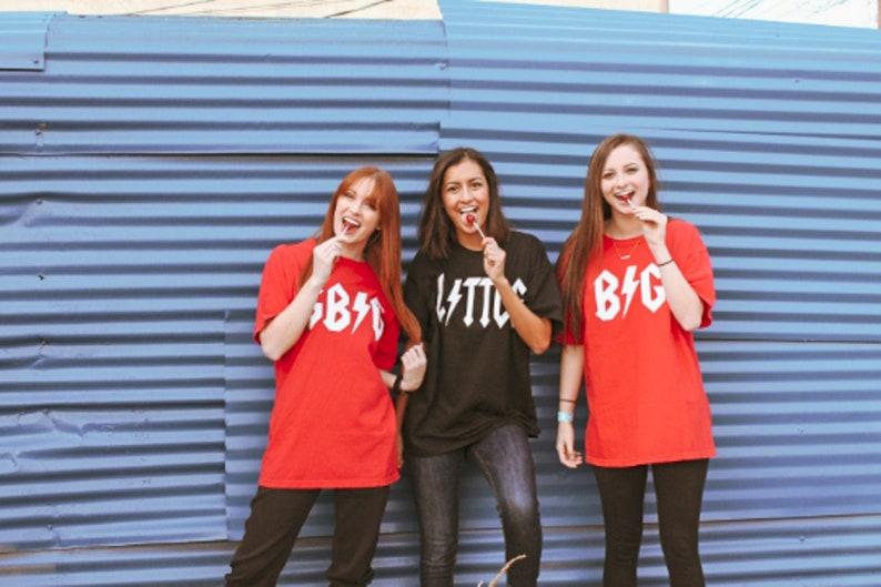 81e29cfc027f3 Big Little Reveal T-shirts, Sorority Big Little, Rock and Roll Shirt,  Sorority Gift, Big Little Gifts, Rockstar T-shirt, Vintage T-shirt