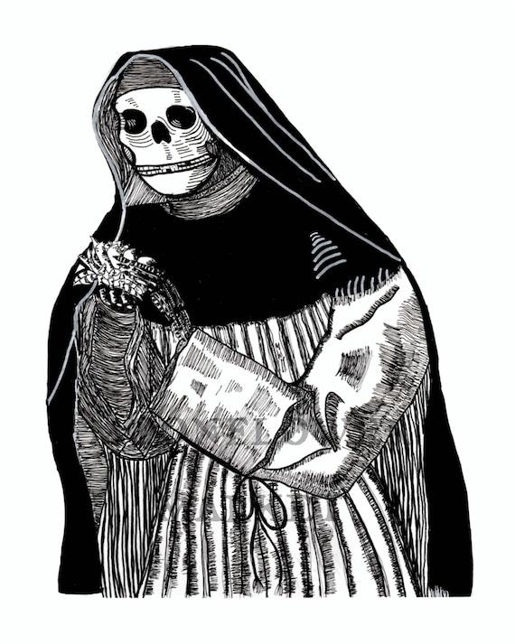 E morte, ad vitam Print