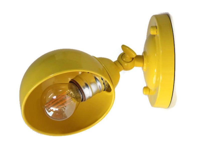 Applique murale lampe rustique lampe industrielle métal etsy