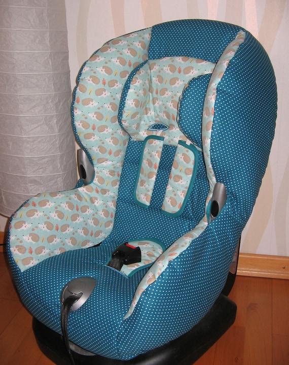 Ersatzbezug passend für Maxi Cosi Priori XP Blau ohne Gurtpolster