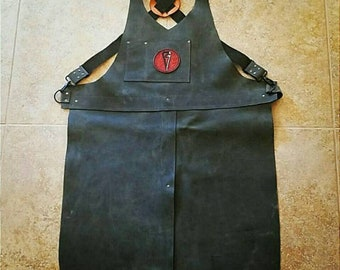 Customizable Leather Blacksmith Apron