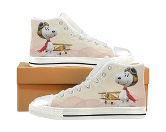 fd3132c7c3afb7 Snoopy Aquila High Top Canvas Women s Shoes