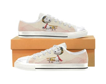 67f2eef5e716 Snoopy Aquila Canvas Women s Shoes