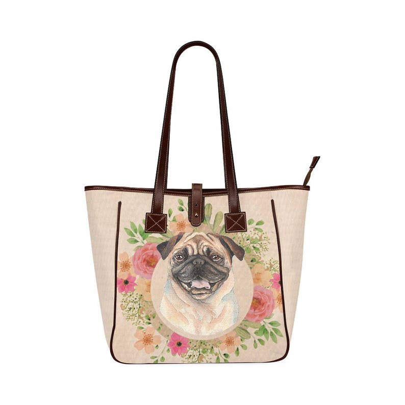 Pug Dog Classic Tote Bag