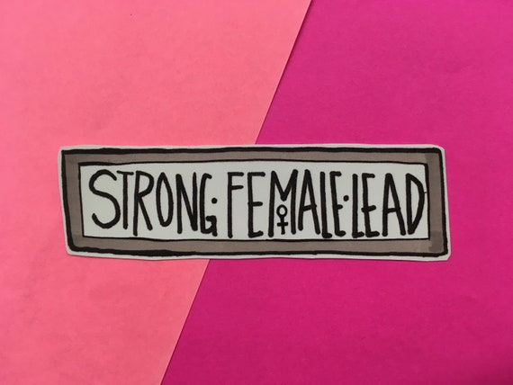 Boss Babe Decal  Feminist Sticker  Strong Woman  Co-Worker Boss Gift