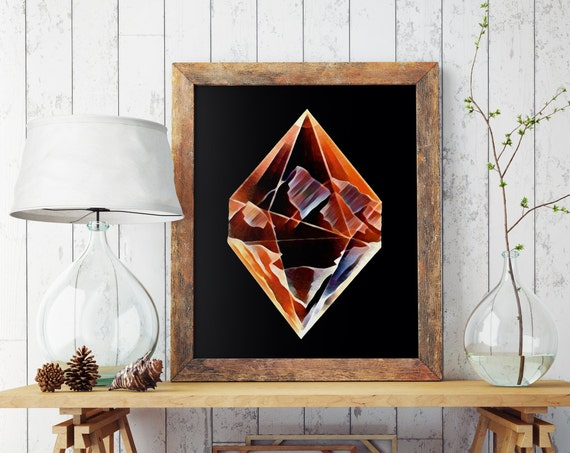 DIAMOND MOUNTAINS  | Wall art | Archival print | giclee prints | poster art | print wall | prints for sale | artwork | art prints