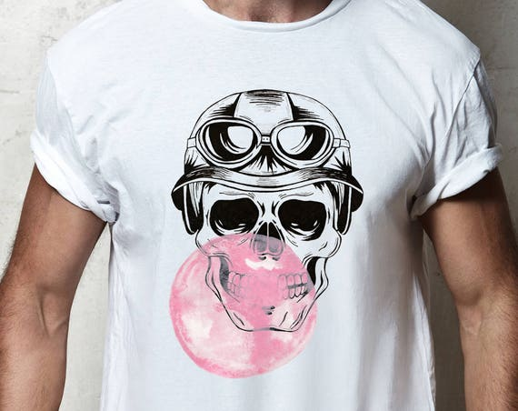 Aviator Skull | Unisex T-shirt | Calaveras | Women / Men Clothing | Personalized T-shirt | Halloween Party shirt | Graphic Tee | ZuskaArt
