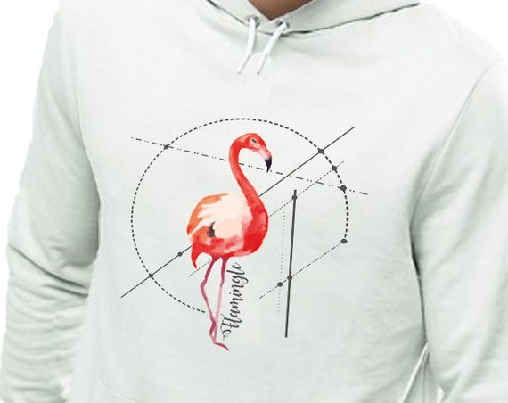 Let's Flamingle | Unisex Heavy Blend Hooded Sweatshirt | Personalized Hoodie | Graphic Hoodie | Party Shirt | Flamingo Art | ZuskaArt