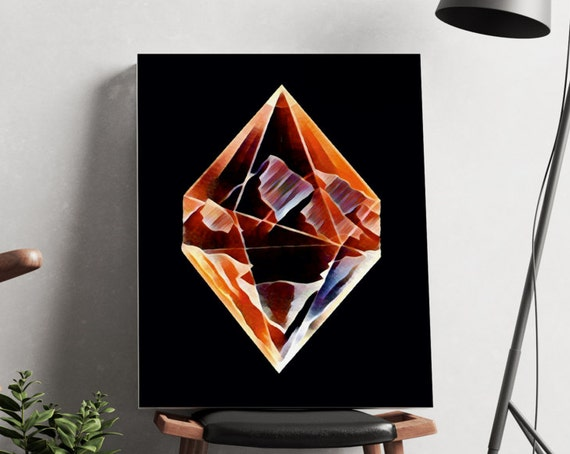 DIAMOND MOUNTAINS  | artwork | art prints | canvas art | framed art | art posters | watercolor art | giclee prints | wall art | ZuskaArt