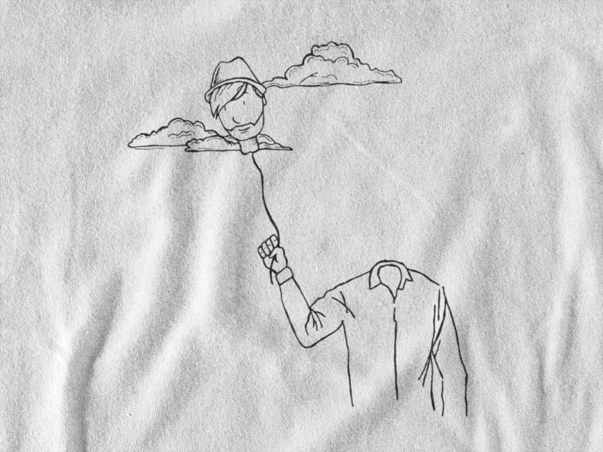 470c78b2 Head in the clouds | Minimalist hip design | T-shirt | Hoodie ...
