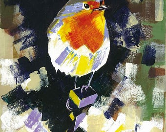 Robin (A3 print)