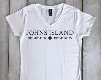 Custom Coordinates Shirt