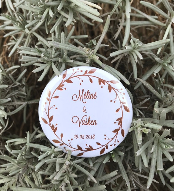 Magnet Wedding Wedding Guest Gifts Badges Wedding Gift Etsy