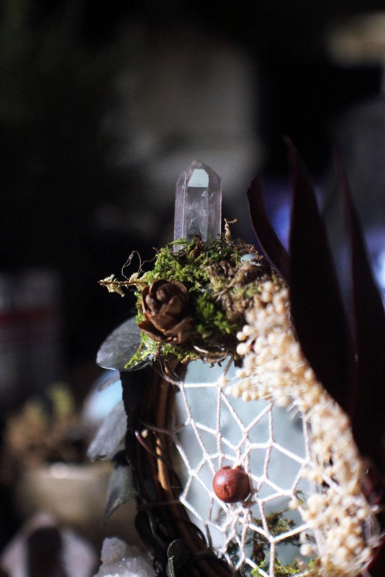 Mini Dream Altar  Quartz Crystal Geode Clusters Dream image 0