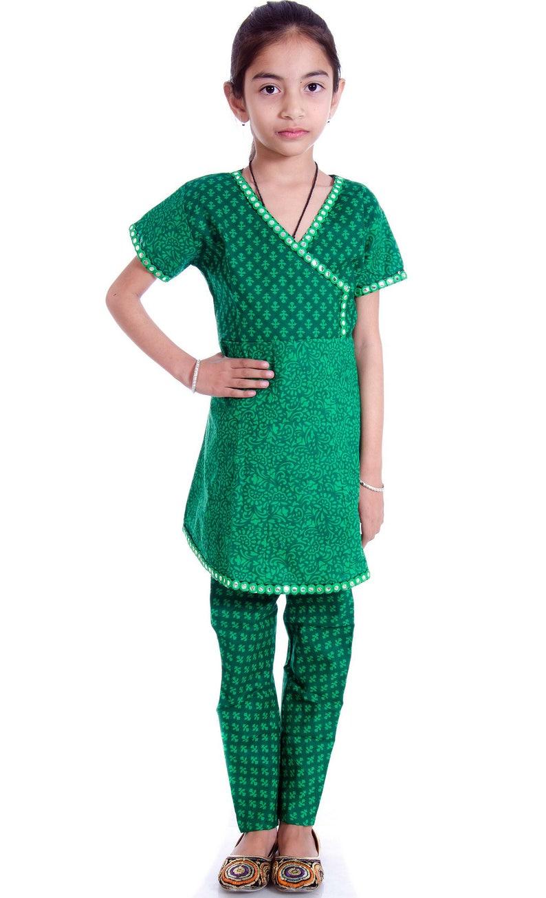 46e5240c1d6cc Kids Anarkali Suit Indian anarkali Dress Girls Ethnic Wear   Etsy