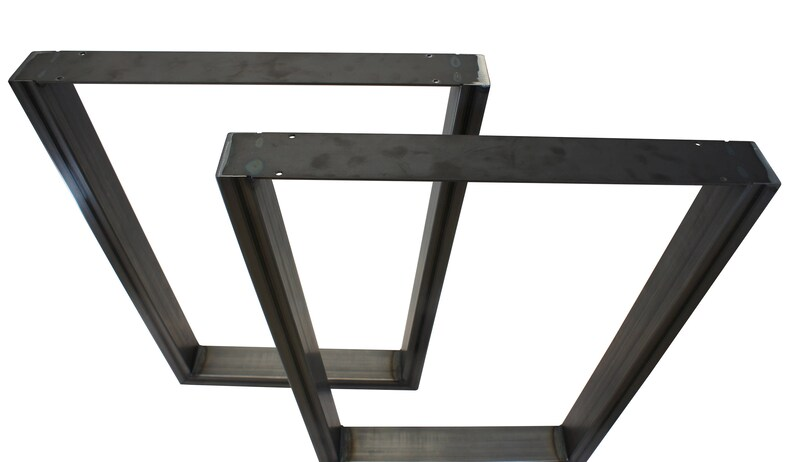 28 High V Shaped Steel Furniture Legs 2 pack