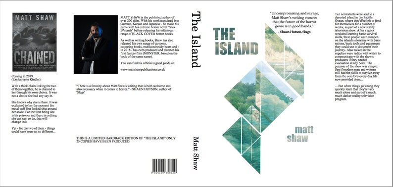 THE ISLAND  Limited Edition hardback / signed image 0