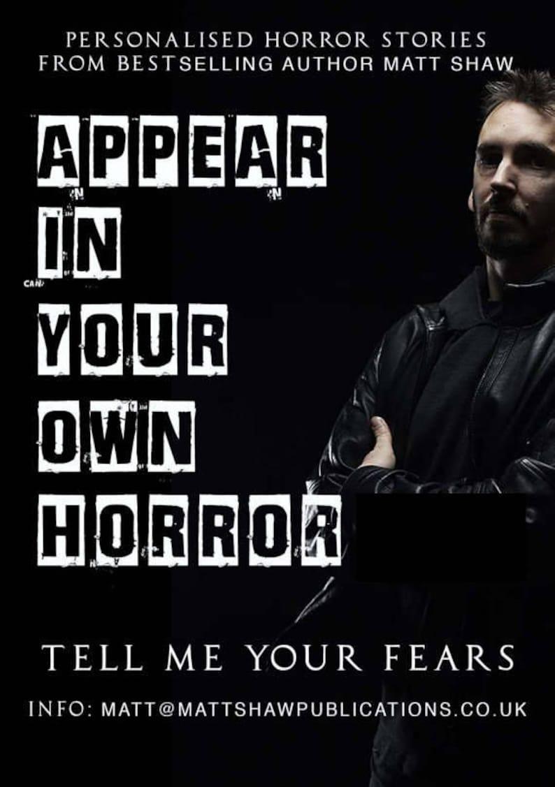 NOVELLA  Personalised horror story image 0
