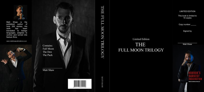 The Full Moon Trilogy: The Complete Collection LIMITED TO 10 image 0