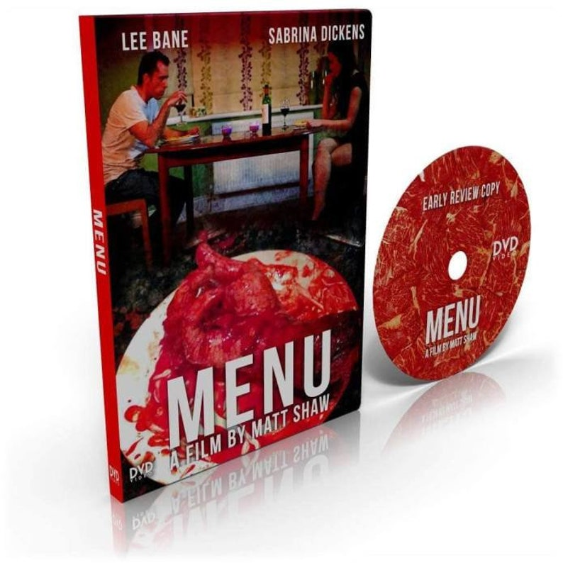 MENU  Signed DVD image 0