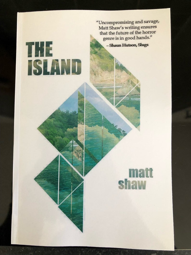 The Island  signed paperback. image 0