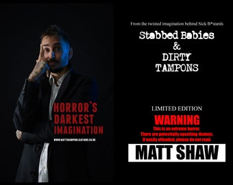 Limited Edition: Stabbed Babies & Dirty Tampons / includes handwritten introduction