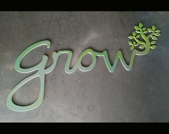 Grow Word Art