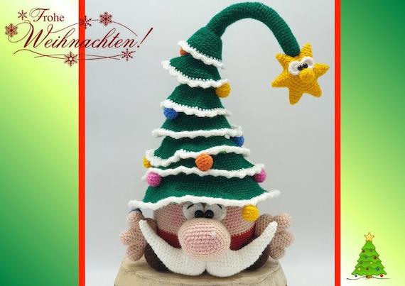 Amigurumi Christmas Elf kostenlose Häkelanleitung in 2020 ... | 403x570