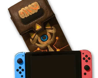 Sheikah Slate Nintendo Switch Case LoZ Breath of the Wild Gaming Accessory Embroidery Cosplay Prop