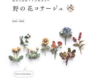 Chrochet Wild flower Corsages  - Easy lovely various kinds of unique designs-professional technique-