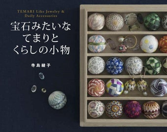 Like Gem small temari balls  - Easy lovely various kinds of unique designs-professional technique-