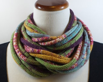 I-Cord Infinity Scarf