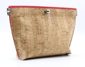 Cork Accessory Bag—VEGAN!
