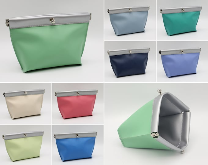 Featured listing image: Vegan Leather Accessory Bag