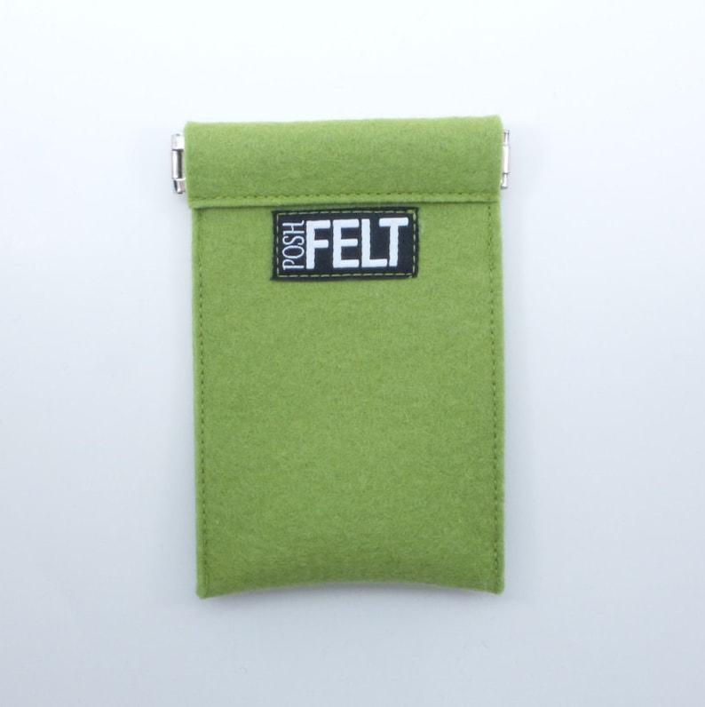 Wool Felt Credit Card Holder