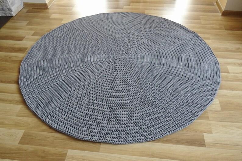Géant au crochet rond tapis, beaucoup de couleurs, plusieurs taille, tapis  rond, tapis de chambre d'enfant bébé garçon, tapis de chambre chambre ...