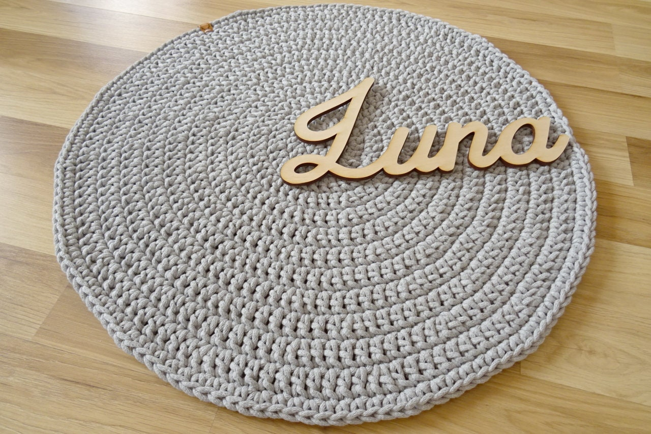 Gray Rug Round For Nursery Decor Crochet Rug Nursery Decor Grey Bathroom Rugs And Mats Rugs Boy