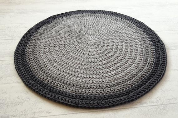 Teppich kinderzimmer, teppich rund grau, kostenloser versand innerhalb  Deutchland, babyteppich, kinderteppich, teppiche, Häkelteppich