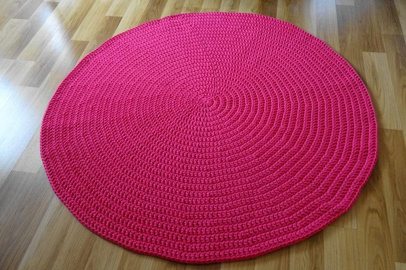 Teppich rund rosa kinderzimmer deko rosa kinderzimmer deko | Etsy